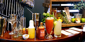 image: Mocktails: Tre alkoholfrie drinker fra en tidligere verdensmester