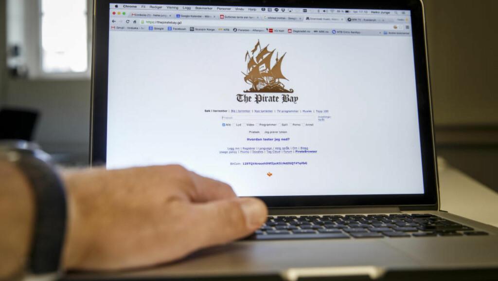 BRYR SEG IKKE OM NORSK LOV: Det skal mer enn et vedtak i Oslo tingrett for å stoppe The Pirate Bay, sier nettdelernes tidligere pressetalsmann. Foto: Heiko Junge / NTB scanpix