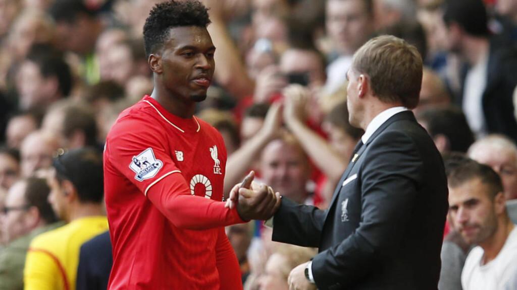 ROSER ELEVEN: Liverpool ville ha kvalifisert seg for høstens mesterliga dersom Daniel Sturridge hadde vært skadefri hele forrige sesong. Det hevder manager Brendan Rodgers. Foto: Reuters / Phil Noble