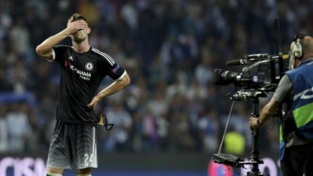 SLITER I EUROPA: Chelsea tapte mot Porto i går.. Foto: EPA/JOSE COELHO