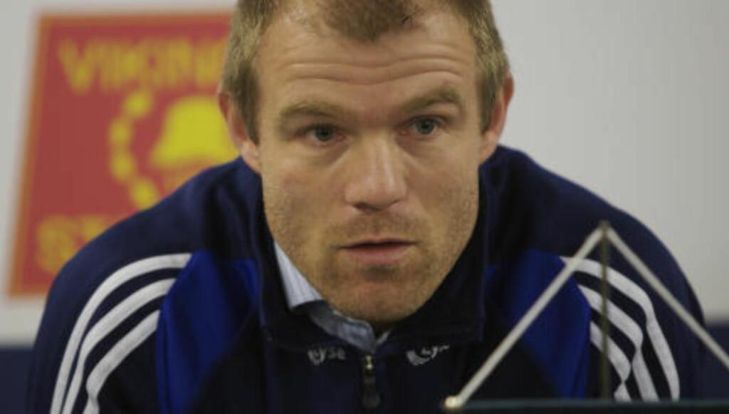 KRITISK:: Tidligere Premier League-spiller Egil Østenstad Foto: Alf Ove Hansen / SCANPIX .