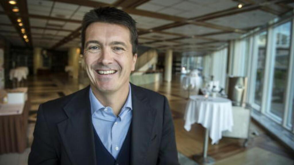 VIL IKKE ØKE PRISEN: Ole Robert Reitan sier at maten på Rema 1000 ikke vil bli dyrere selv om saltet går ned i matvarene.  Foto: Øistein Norum Monsen / Dagbladet