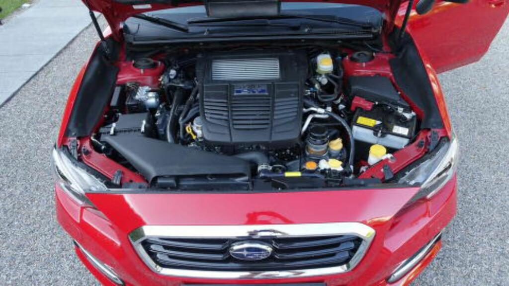 SAMME PROSEDYRE: Den nye motoren er også en boxermotor. Siden 1972 har Subaru produsert 15 millioner slike.  Foto: KNUT ARNE MARCUSSEN