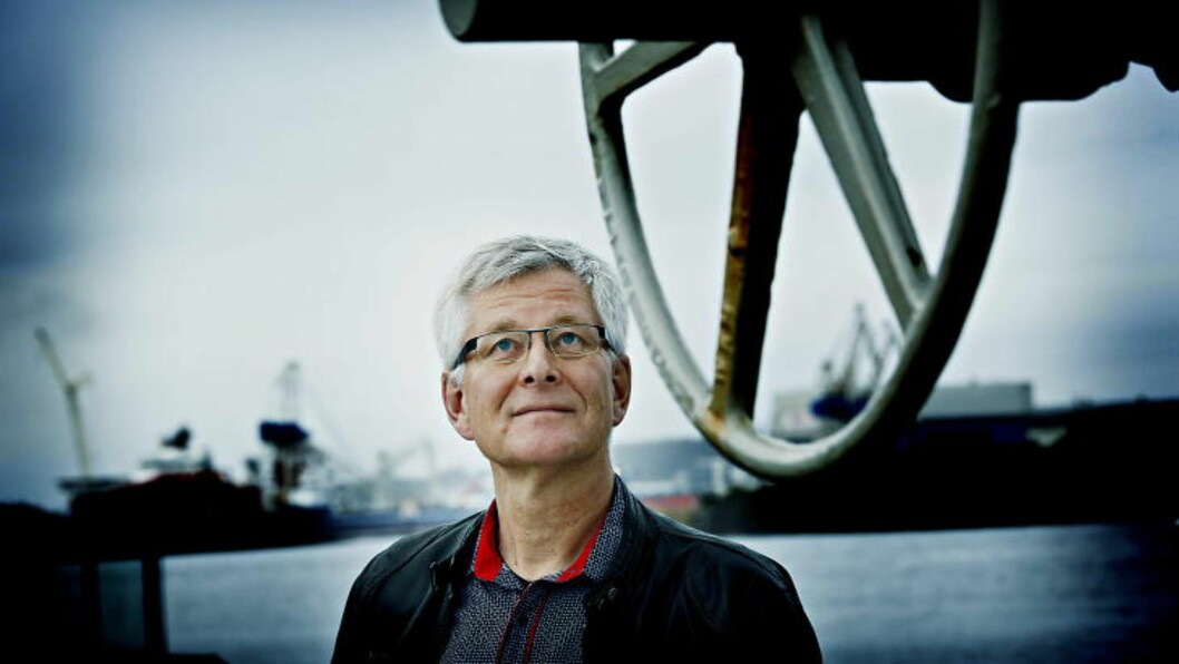 - DET ÉR KRISE: Tillitsvalgt i Aker MMO, Per Arne Salvesen. Foto: Jacques Hvistendahl / Dagbladet