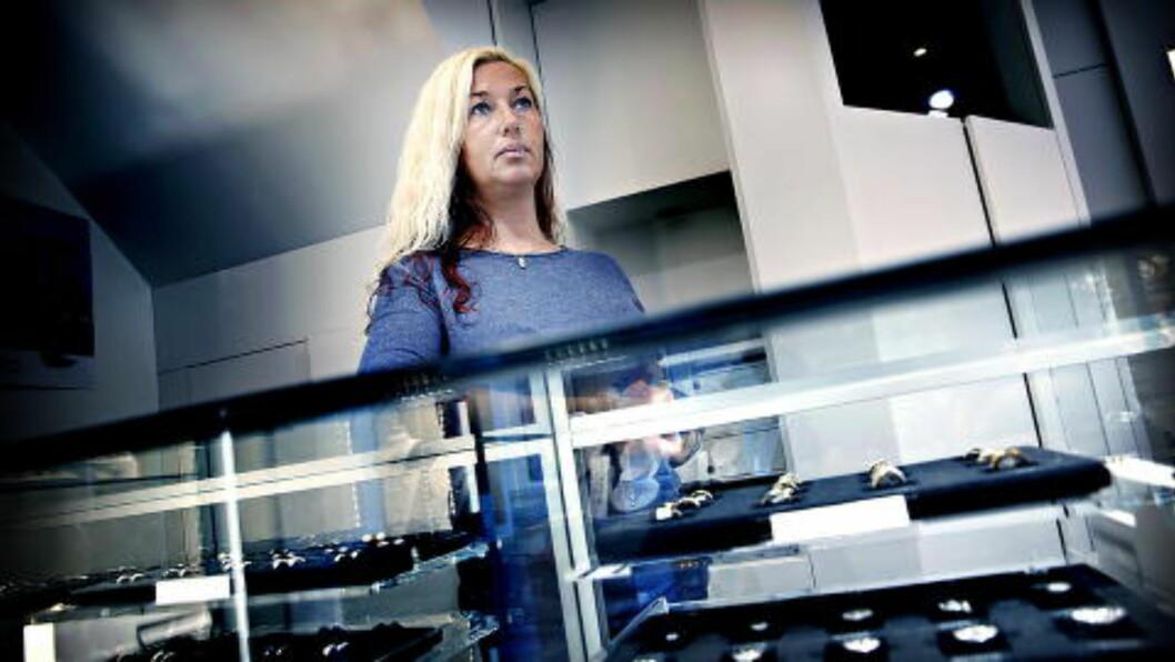 - FORFERDELIG: Justyna Jørgensen hos Diamanthuset. Foto: Jacques Hvistendahl / Dagbladet
