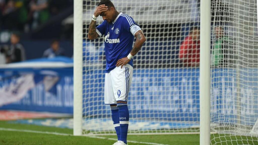 SUSPENDERT: Kevin Prince Boateng har ingen fremtid i Schalke. Foto: AFP PHOTO / PATRIK STOLLARZ
