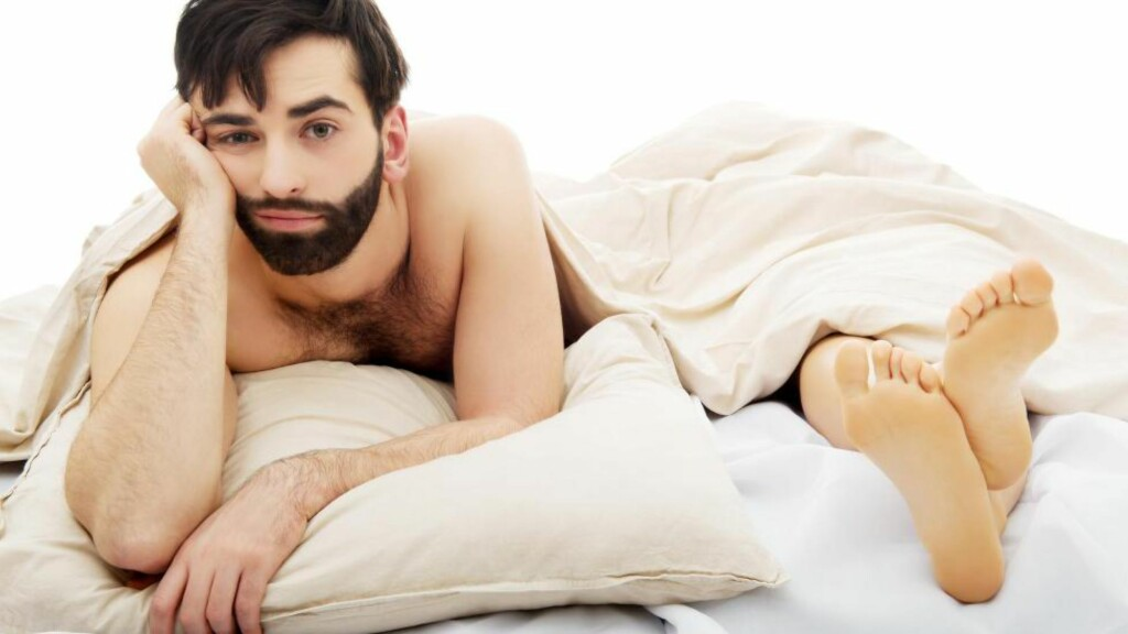 LIDER: Nesten en tredel av alle menn lider av for tidlig sædavgang. Foto: Fotolia