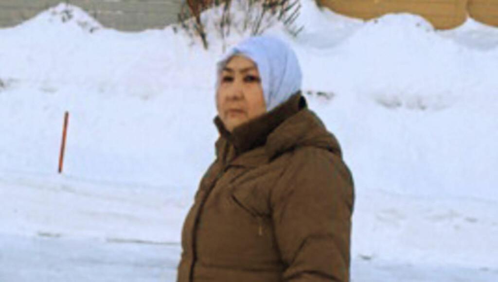 FÅR IKKE FLYTTE INN:  Styret i Ekeberg borettslag i Sandefjord sa nei da Maryam Akbari Mirzad (62) skulle flytte inn. Foto: Privat