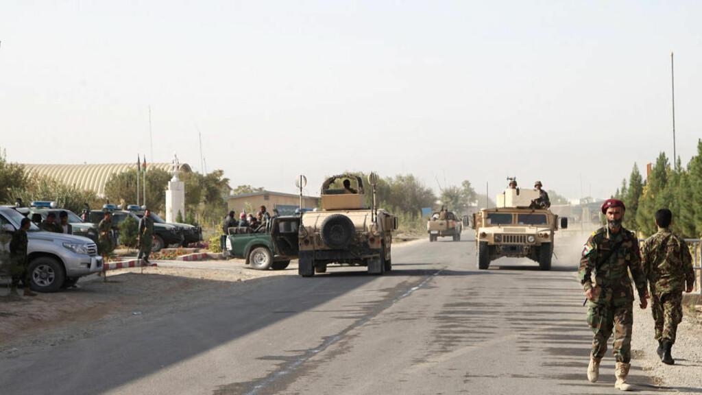 ANGREP: Tre hjelpearbeidere som jobbet for organisasjonen Leger Uten Grenser er drept i Afghanistan i natt. Foto: AP Photo/Dehsabzi