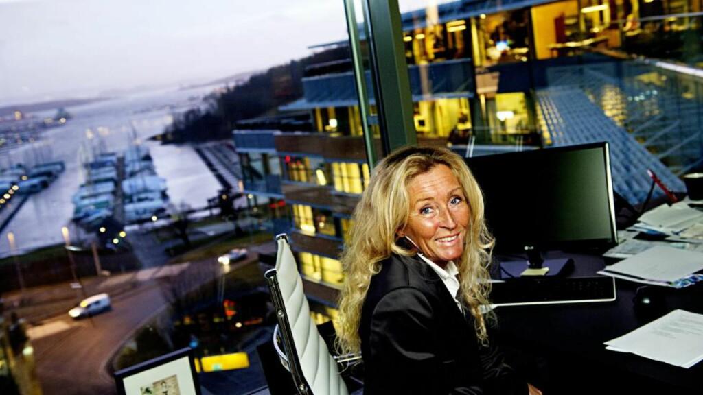BOLIG: Adm. dir. i Privatmegleren Grethe W. Meier har fått rekordmange oppdrag i september. Foto: Iván Kverme / Finansavisen