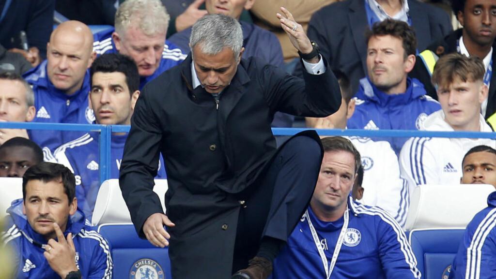I TRØBBEL: José Mourinhos Chelsea-lag fortsetter å tape kamper.