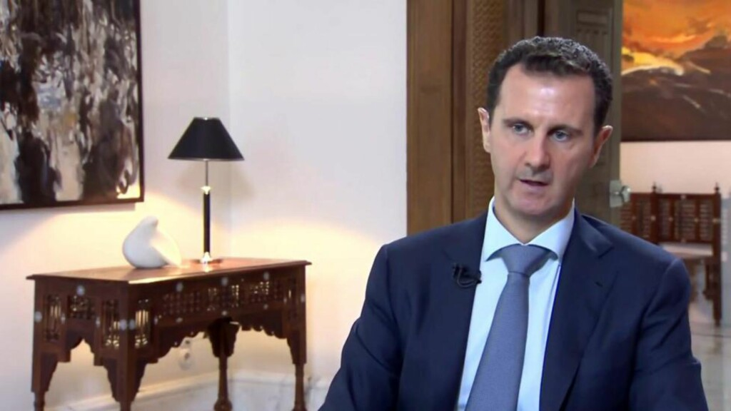 I SJELDENT INTERVJU: Syrias president Bashar al-Assad. AFP PHOTO / NTB scanpix