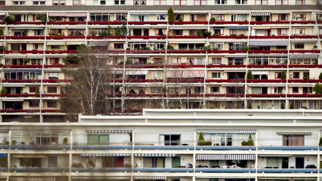 Krangler mer:  Tvistene mellom utleier og leietaker har blitt fler. Her fra Stovner i Oslo. Foto: Vegard Wivestad Grøtt / NTB scanpix