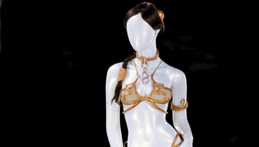 STAR BRA'S:  Carrie Fisher beskrev det lille klesplagget som best egnet for supermodeller fra helvete. Foto: REUTERS