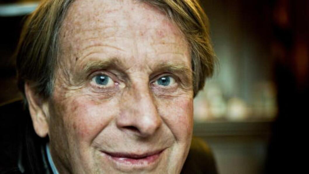 <strong>INSPIRERT:</strong> Forfatter Knut Faldbakken forteller at mye av Henning Mankells arbeid har inspirert ham i egne bøker. Foto: Nina Hansen/Dagbladet