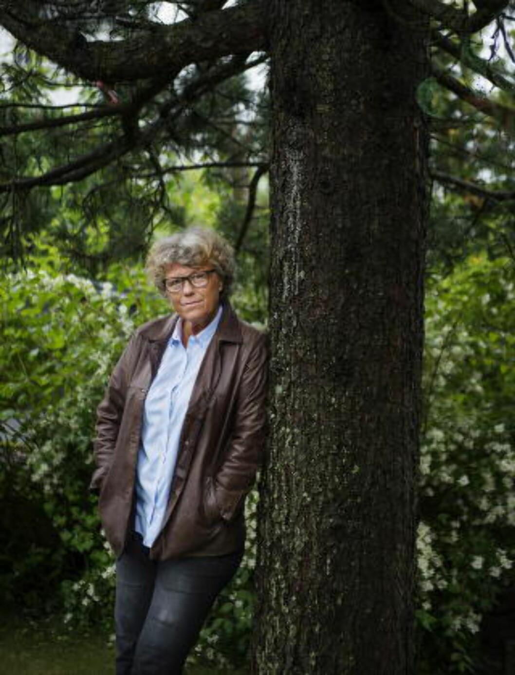 <strong>STOR TILHENGER:</strong> - Jeg har lest Wallander-bøkene med stor lyst og glede, sier forfatter Anne Holt.  Foto: Benjamin A. Ward / Dagbladet