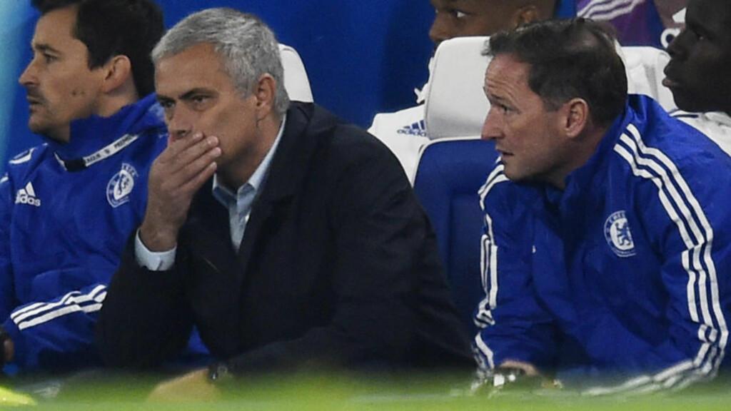 UNDER PRESS:  Chelsea-manager José Mourinho. Foto: NTB Scanpix