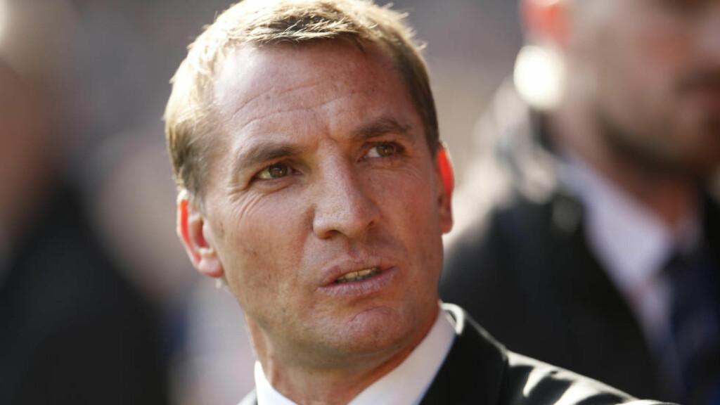 SKUFFET:  Brendan Rodgers fikk søndag sparken som Liverpool-manager. Foto: Reuters / Lee Smith