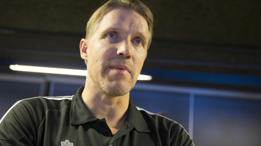 SPARKET:  Drammen-trener Renè Hamann-Boeriths. Foto: Håkon Mosvold Larsen / NTB scanpix