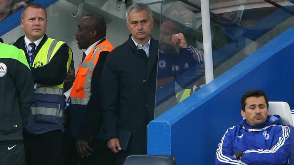 SIKTET:  Jose Mourinhos kampintervju etter tapet mot Southampton falt ikke i smak hos FA. Foto: NTB Scanpix.