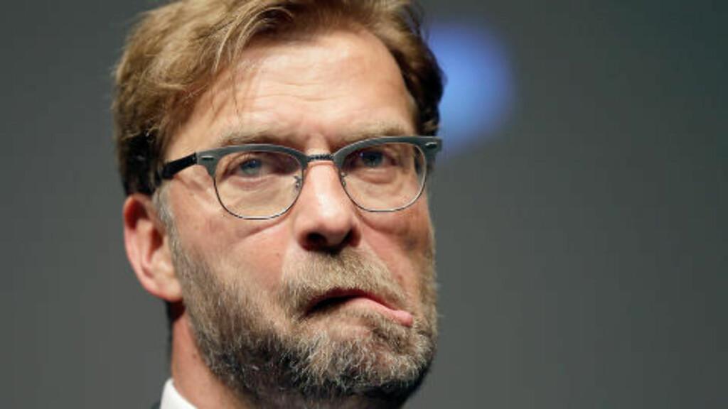 GAL: Jürgen Klopp omtales som gal til tider. Foto: Michael Sohn/dpa/NTB Scanpix