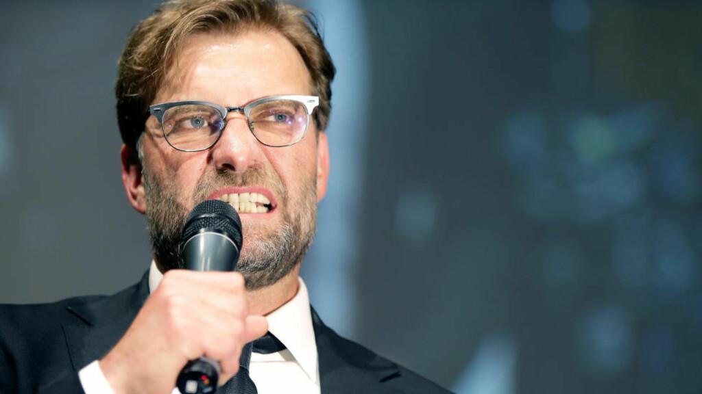 ARBEIDSLØS: Jürgen Klopp har vært uten arbeid siden juni etter at han ga seg som manager i Borussia Dortmund. Foto: Michael Sohn/dpa/NTB Scanpix
