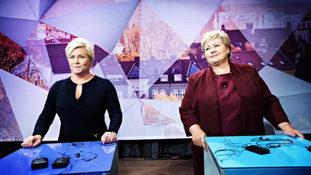 NYTT STATSBUDSJETT: I morgen legger finansminister Siv Jensen fra regjeringens forslag til statsbudsjett.  Foto: Nina Hansen / Dagbladet