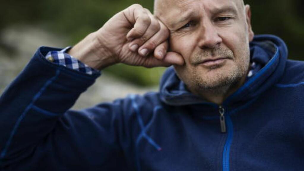 PROSJEKT-SJONGLØR: Erlend Loe holder gjerne på med tre-fire store prosjekter samtidig, men forteller at det morsomste er å skrive bøker. Foto: Benjamin A. Ward / Dagbladet
