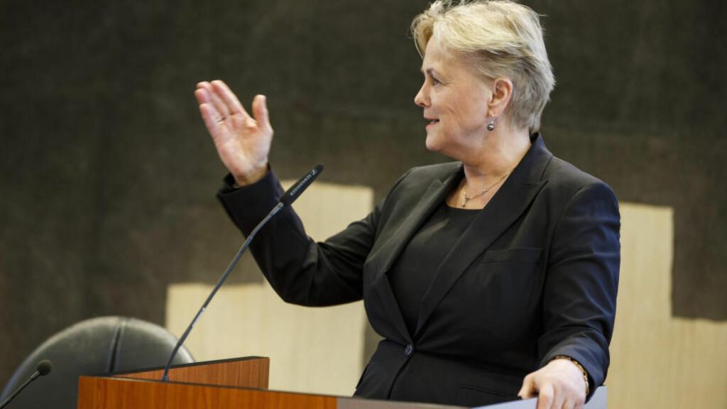 MOMSKUTT: Kulturministeren vil gi også nettmedier fritak fra merverdiavgift fra 2016. Foto: NTB Scanpix