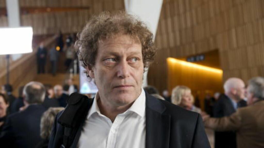IKKE HELT GRØNN:  Hauge håper Venstre og KrF følger opp. Foto: Fredrik Varfjell / NTB scanpix
