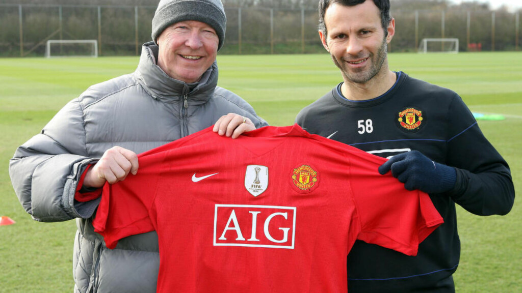 SKULLE GITT SEG TIDLIGERE: Tidligere United-manager Alex Ferguson sier at Ryan Giggs ville ha vært manager i klubben i dag om han hadde lagt opp som 35-åring. Foto: NTB Scanpix