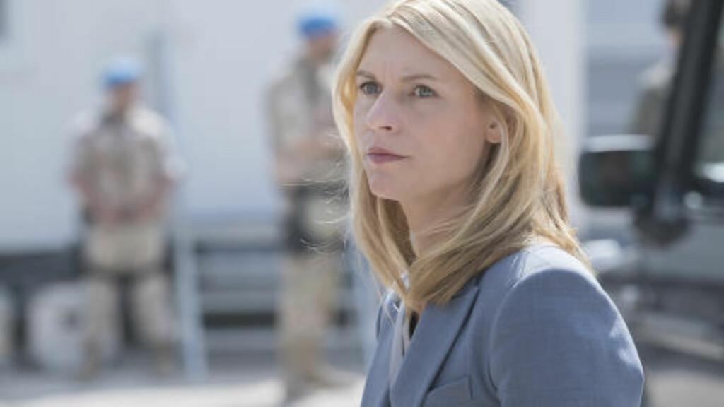 CARRIE IGJEN: «Homeland» tar oss rett inn i IS og Syria-konflikten og igjen følger vi Carrie Mathison. NTB/Scanpix