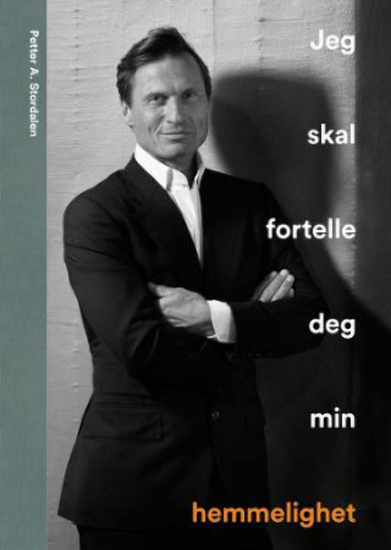 NY BOK: Petter Stordalens bok er i salg neste uke. Foto: Aller forlag