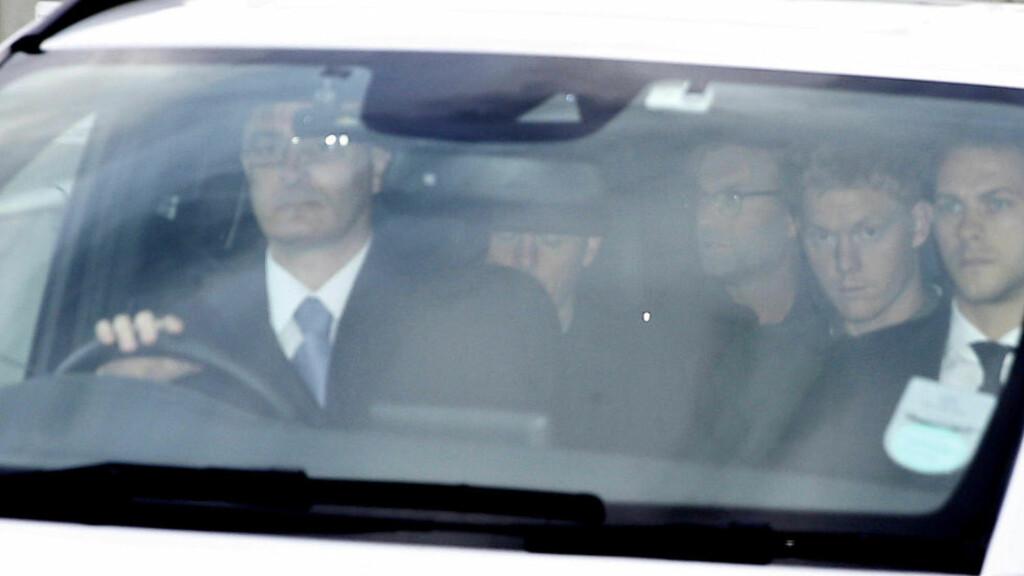 I LIVERPOOL:  Jürgen Klopp avbildes utenfor John Lennon Airport torsdag kveld. Foto: NTB Scanpix.