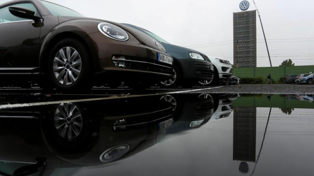 KOMMER MED OPPDATERING: Volkswagen har sagt til amerikanske miljømyndigheter at de vil ha klar en oppdatering til sine biler i neste uke. Foto: Ronny Hartmann / AFP / NTB scanpix