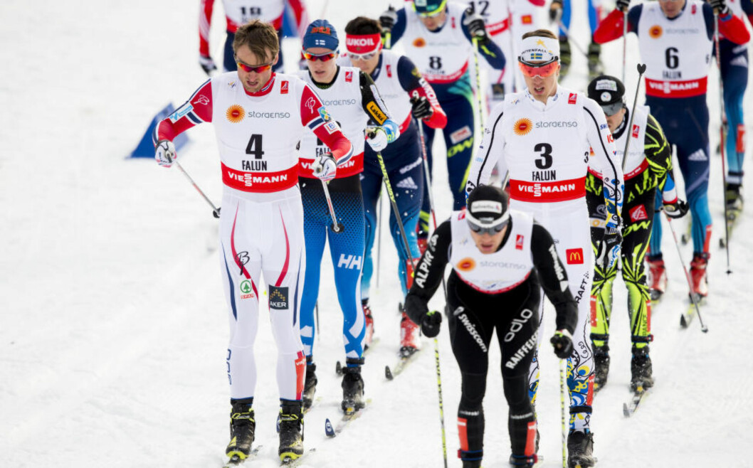 FLERE NASJONER: Fra sesongen 2016-1017 vil ti nye nasjoner få støtte fra Det internasjonale skiforbundet (FIS) til å stille i verdenscuprenn. Foto: Vegard Wivestad Grøtt / NTB scanpix
