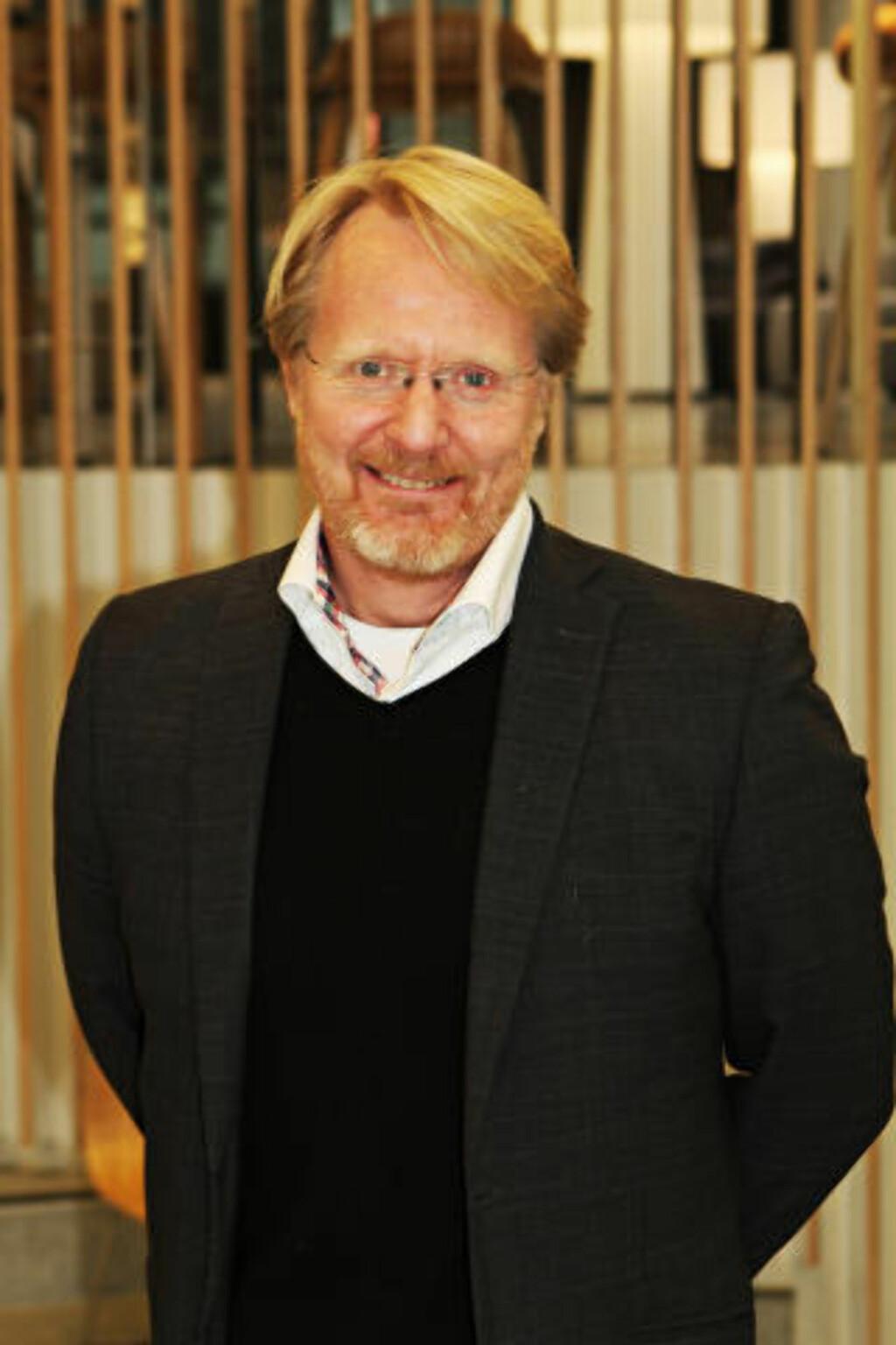 STUDERT ELBIL-EIERNE: Senioranalytiker Anders G. Hovde i TNS Gallup.