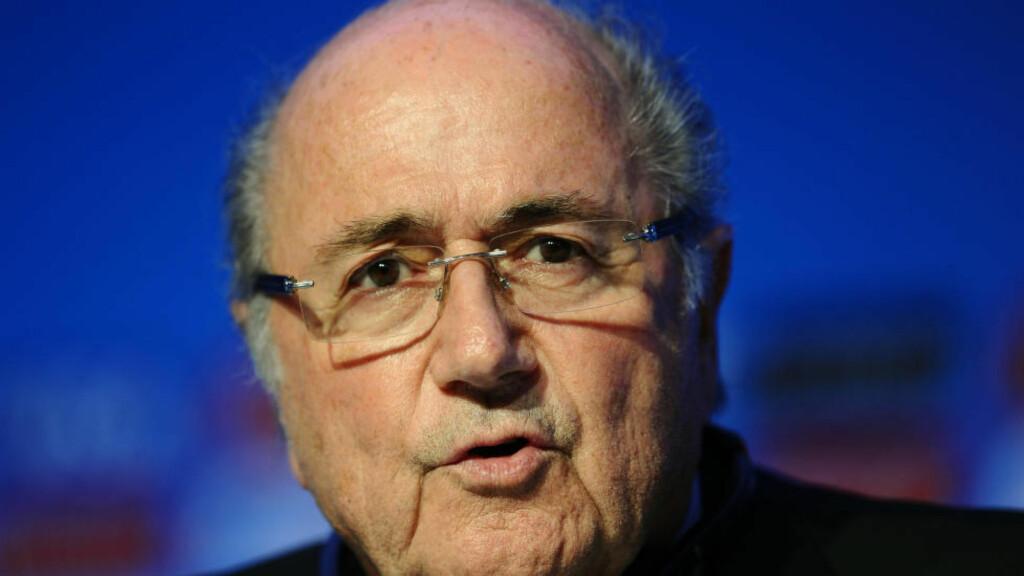 ANKER UTESTENGELSE: FIFA-president Sepp Blatter anker utestengelsen på 90 dager, melder New York Times.  Ifølge avisen skal sveitseren ha lagt inn klage fordi han ikke fikk vite om avgjørelsen før den ble kjent gjennom mediene torsdag. Foto: NTB Scanpix