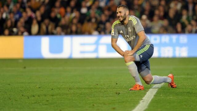 a61ef946 SNUBLET: Real Madrid klarte bare 1-1 borte mot Betis, mens Atlético Madrid