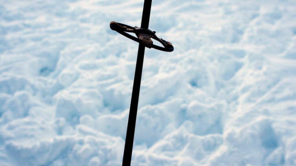 RAMME ALVOR:  Du tuller ikke med norsk stavtradisjon. Her en ikonisk stav som skikongen Vegard Ulvang benyttet under trening til en ekspedisjon i isødet mot Sørpolen.Foto: Linda Næsfeldt / Dagbladet.