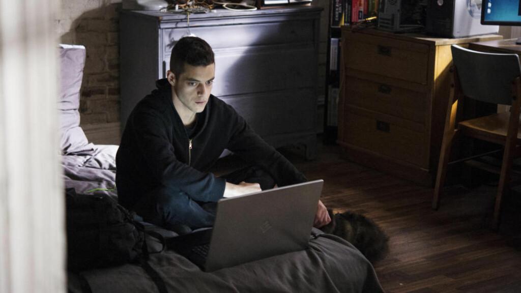 GJENNOMBRUDD: Skuespiller Rami Malek er kanskje best kjent fra tv-serien «The Pacific», men nå er «Mr. Robot» blitt hans endelige gjennombrudd. Foto: USA Network