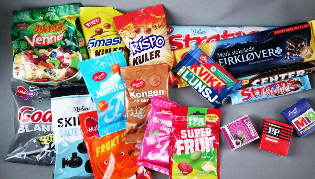 Test av årets godterinyheter
