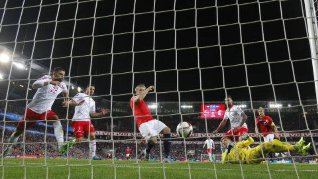 2-0:  Alexander Søderlund.  Foto: Bjørn Langsem / Dagbladet