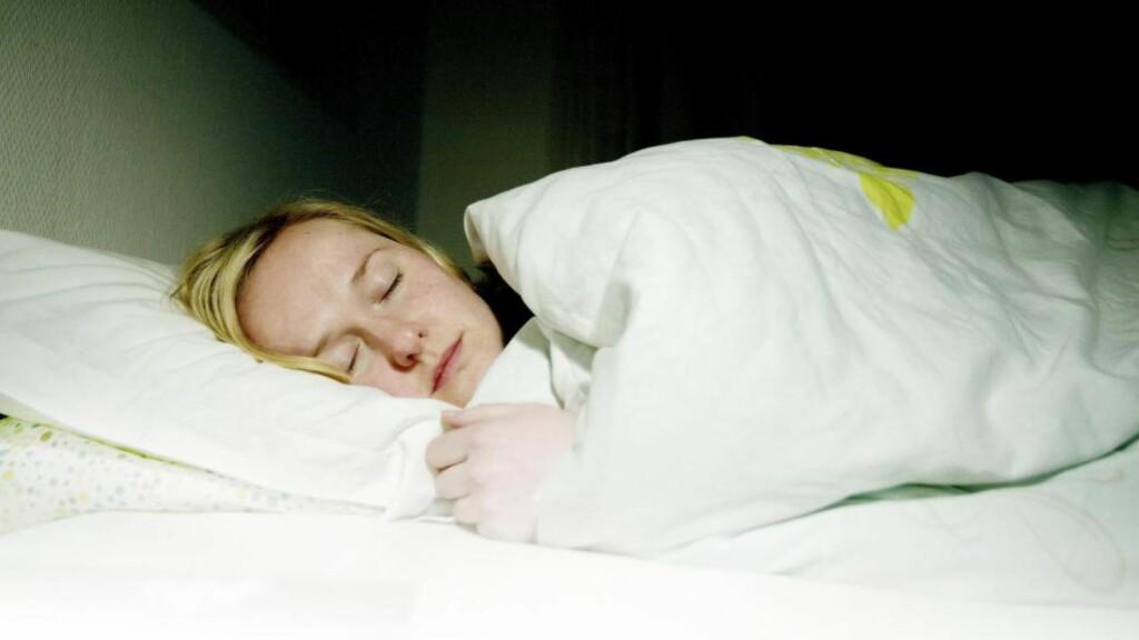 NOK HVILE: Om du kjører deg selv for hardt, blir du mer utsatt for infeksjoner. God søvn kan gjøre at du lettere holder deg frisk neste gang du utsettes for smitte. Foto: Torbjørn Grønning
