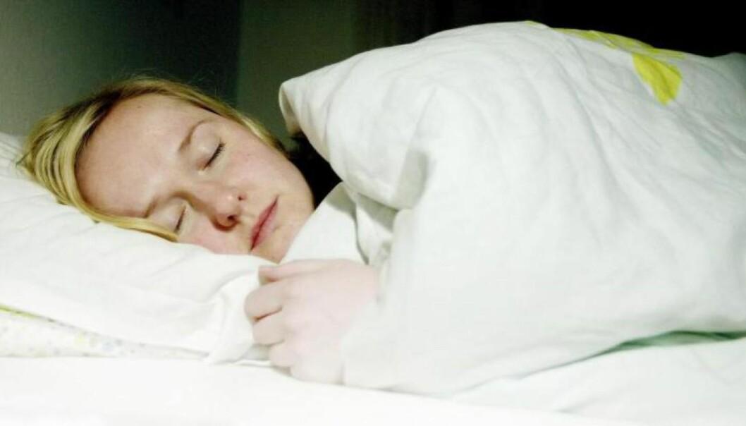 Slik sover du deg frisk