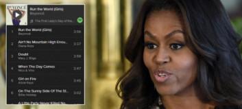 Nico og Vinz eneste menn på Michelle Obamas eksklusive kvinne-spilleliste