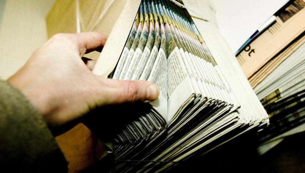 ALT-I-ETT-BUD:  Schibsted sine avisbud leverer både morgenavis og frokost. Foto: Scanpix