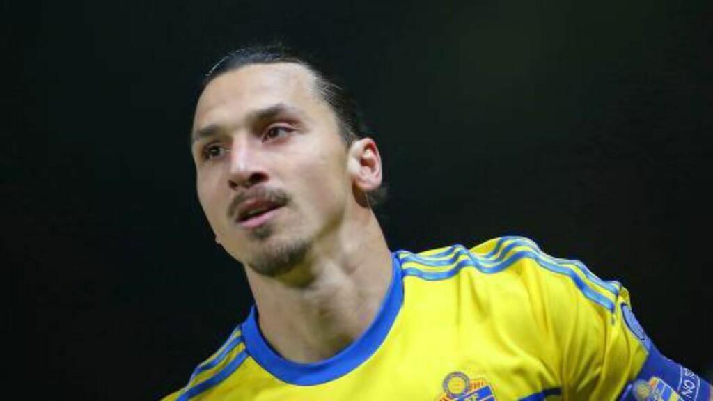 SJU PÅ SEKS:  Zlatan Ibrahimovic har scoret sju mål på seks kvalikkamper. Foto: AFP PHOTO / MICHELE LIMINA / NTB Scanpix.