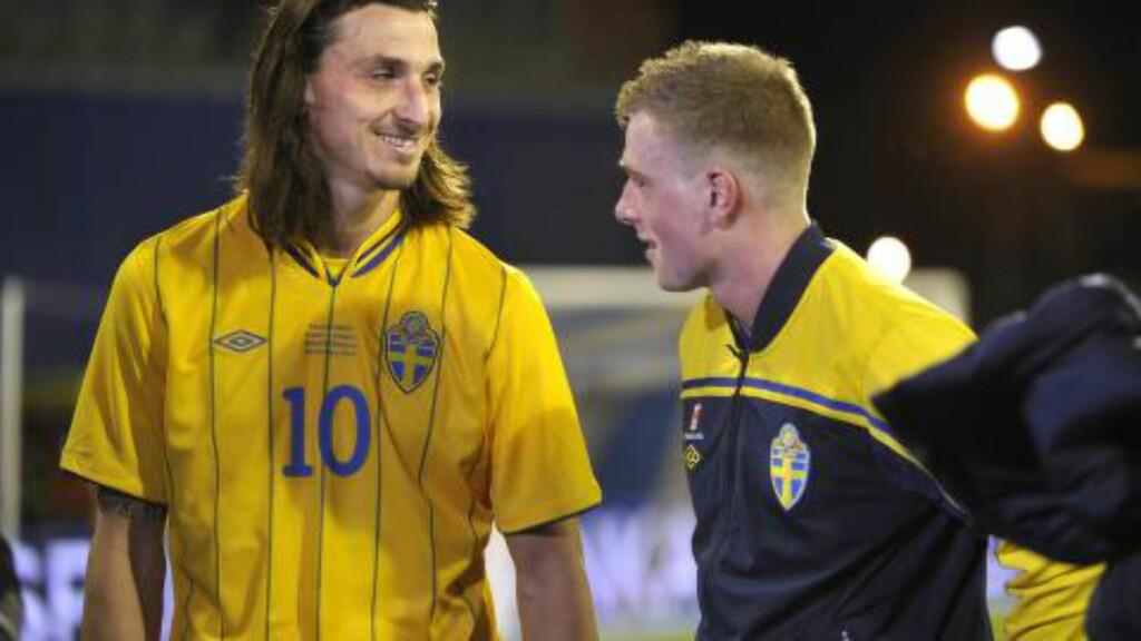 DEBUTERTE:  John Guidetti fikk sin Sverige-debut mot Kroatia i 2012. Foto: Fredrik Sandberg / SCANPIX / NTB Scanpix