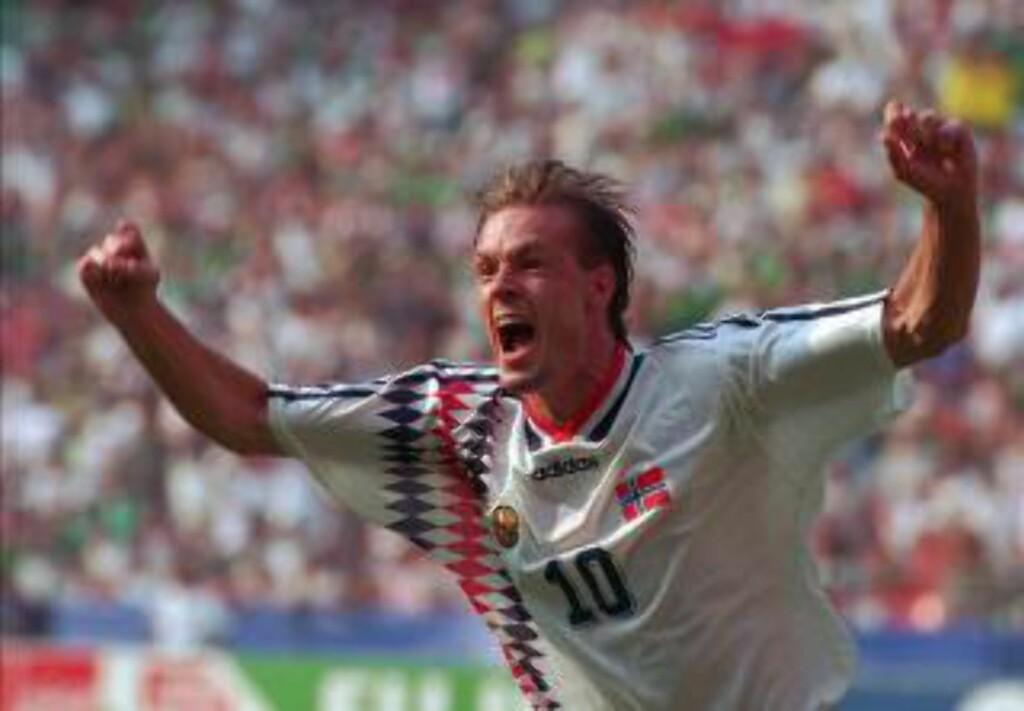3: Norges første VM-sluttspill-seier. Foto: NTB Scanpix